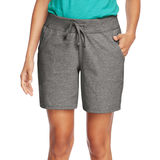 Hanes Womens Jersey Pocket Short O9264