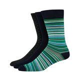 Hanes Ultimate Men's FreshIQ Men's Assorted Dress Socks 3-Pack U81/3