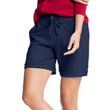 Hanes Womens French Terry Bermuda Pocket Short O4681