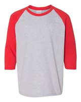 Gildan Heavy Cotton Youth Raglan Tee 5700B