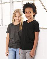 Bella + Canvas Youth Short Sleeve V-Neck Jersey Tee 3005Y