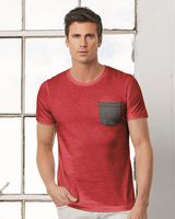 BELLA + CANVAS Jersey Pocket Tee 3021