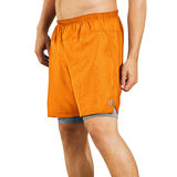 Champion Mens Cool CTRL Run Shorts with Compression Liner 80730