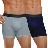Jockey Mens Sports Cotton Performance 2 Pack Boxer Brief 8068