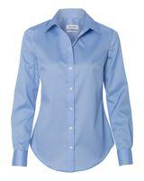 Calvin Klein Women's Non-Iron Micro Pincord Long Sleeve Shirt 13CK034