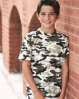 Badger Camo Youth Short Sleeve T-Shirt 2181