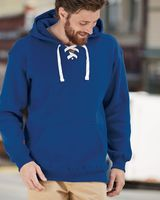 J. America Sport Lace Hooded Sweatshirt 8830