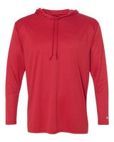 Badger B-Core Long Sleeve Hooded T-Shirt 4105