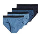 Jockey Men's Tailord Essentials Maxstretch Briefs - 4 Pack 8224