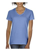 Comfort Colors Women's Garment-Dyed Midweight V-Neck T-Shirt 3199