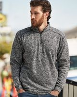 J. America Cosmic Fleece Quarter-Zip Sweatshirt 8614