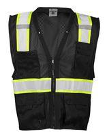 ML Kishigo Enhanced Visibility Multi-Pocket Mesh Vest B100-103