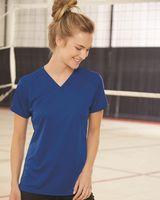 Badger Women's B-Core V-Neck T-Shirt 4162