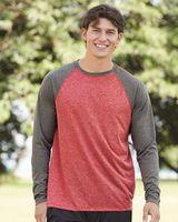 Augusta Sportswear Kinergy Raglan Long Sleeve Tee 2815