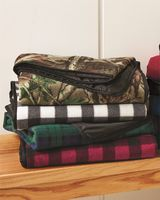 Alpine Fleece Patterned Picnic Blanket 8702