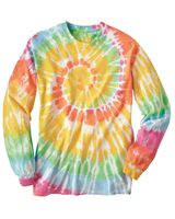 Dyenomite Spiral Tie Dye Long Sleeve 240MS