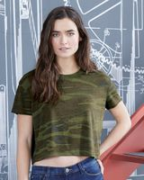 Alternative Women's Vintage Jersey Headliner Cropped Tee 5114