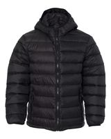 Weatherproof 32 Degrees Youth Packable Hooded Down Jacket 15600Y