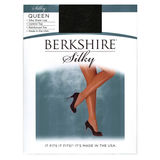 Berkshire Women's Plus-Size Queen Silky Sheer Control Top Pantyhose 4489