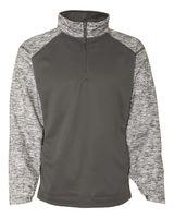 Badger Blend Sport Performance Fleece Quarter-Zip Pullover 1487