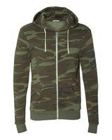Alternative Eco-Fleece Rocky Hooded Full-Zip Sweatshirt 9590