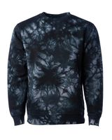 Independent Trading Co. Midweight Tie-Dyed Sweatshirt PRM3500TD