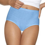 Hanes Womens Ultimate Cotton Comfort Briefs Assorted Colors & Patterns 4-Pk 40KUC6