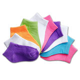 Hanes Girls Toddler Low-Cut EZ Sort Sock Assorted 10-Pk 38/10