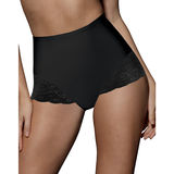 Bali Brief with Lace Firm Control 2-Pack X054