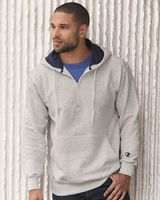 Champion Cotton Max Hooded Quarter-Zip Sweatshirt S185