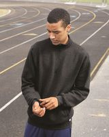 Russell Athletic Dri Power Quarter-Zip Cadet Collar Sweatshirt 1Z4HBM