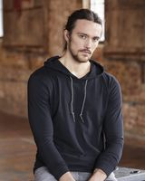 Anvil Lightweight Long Sleeve Hooded T-Shirt 987
