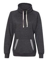J. America Relay Women's Cowlneck Sweatshirt 8653