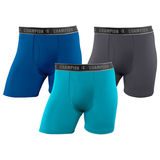 Champion Men's Active Performance Regular Leg Boxer Brief 3-Pack CHARA2