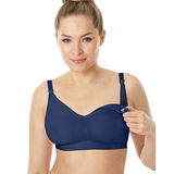 Playtex Secrets Seamless Wirefree Nursing Bra with X-Temp Cooling Technology 4956
