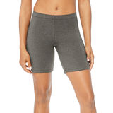 Hanes Womens Stretch Jersey Bike Shorts O9291