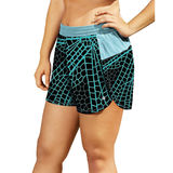 Champion Womens Plus Printed Sport Shorts 5 QM0984P