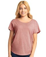 Next Level Women's Triblend Short Sleeve Dolman 6760