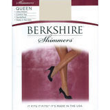 Berkshire 4412 Queen Size Pantyhose Ultra Sheer Shimmer Control Top