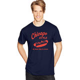 Hanes Men's Chicago Style Graphic Tee GT49 Y07071