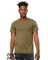 Bella + Canvas Fast Fashion Unisex Triblend Raw Neck Tee 3414