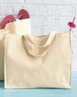 Liberty Bags 12 Ounce Gusseted Canvas Tote 8501