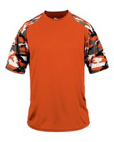Badger Camo Youth Sport T-Shirt 2141