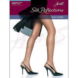Hanes Hosiery 717  Silk Reflections Sheer Control Top SF Pantyhose