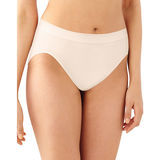 Barely There by Bali Comfort Revolution Microfiber Seamless Hi Cut Panty 303J