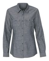 Burnside Women's Long Sleeve Chambray 5255