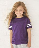 Rabbit Skins Toddler Football Fine Jersey Tee 3037
