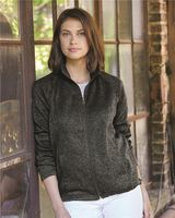 Weatherproof Women's Vintage Sweaterfleece Full-Zip Sweatshirt W198013