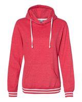 J. America Relay Women's Hooded Pullover Sweatshirt 8651