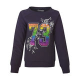 Hanes Girls Sporty Floral Crewneck Sweatshirt K216/AK